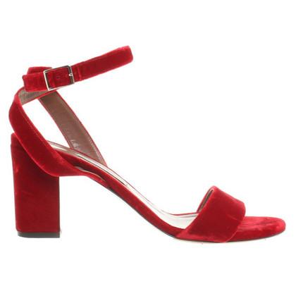 Tabitha Simmons Sandals Velvet