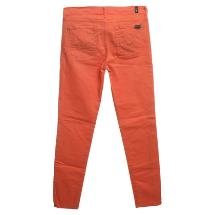 7 For All Mankind Jeans in Orange