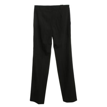 Gucci Bandplooibroeken in zwart