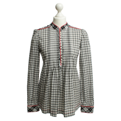 Cinque Blouse with plaid pattern