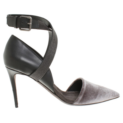 Brunello Cucinelli Pumps in Grau