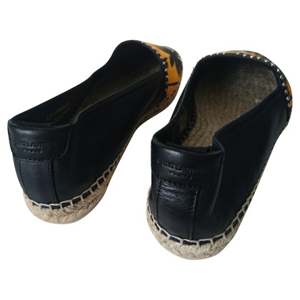 Yves Saint Laurent Leather espadrilles