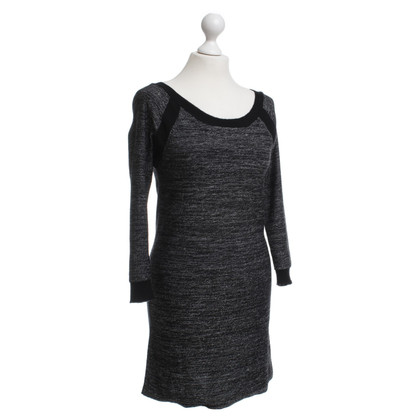 Sandro Knitted dress in grey