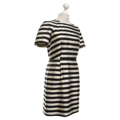 Whistles Striped dress in bicolour