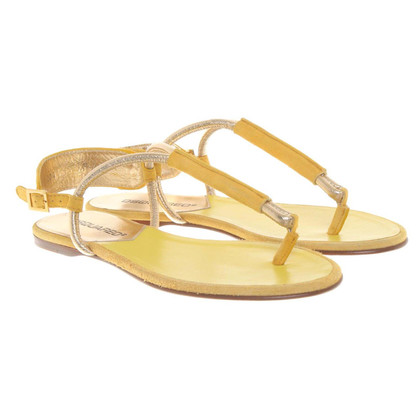 Dsquared2 Sandali in giallo