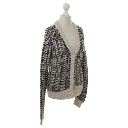 Jil Sander Cardigan in beige/blue