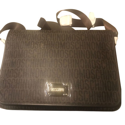 Moschino Shoulder bag with logo pattern