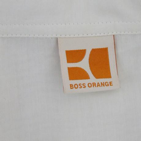 Orange in Tunika Wei Transparente Tunika Boss Boss Transparente Orange Wei Boss in OOntTq
