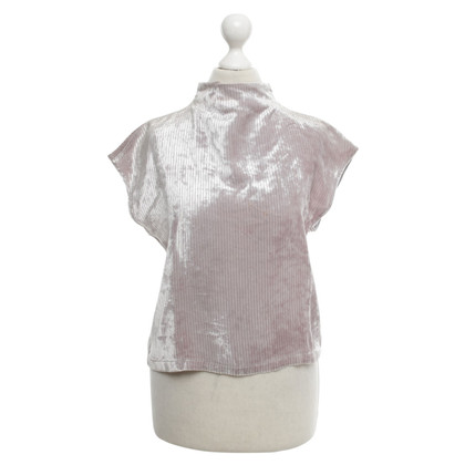 Armani Jeans Top in rosa cipria