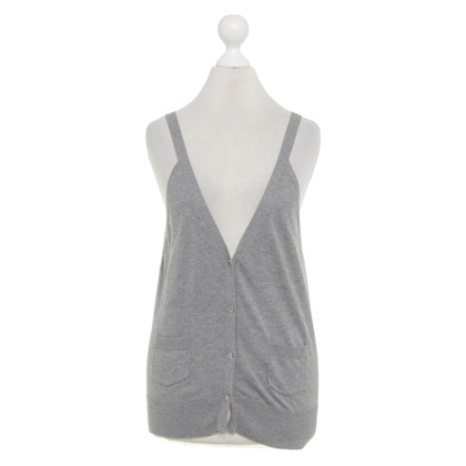Comptoir des Cotonniers Knitted vest in grey