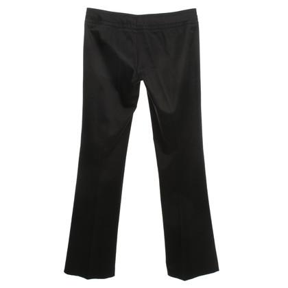Gucci Schwarze Hose aus Baumwolle