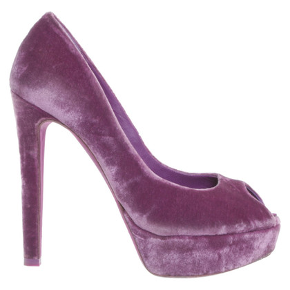Christian Dior pumps in violet