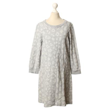 Marc by Marc Jacobs Sweatshirt jurk met luipaard print