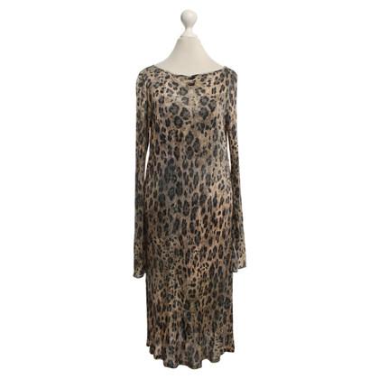 Blumarine Kleid mit Animalprint