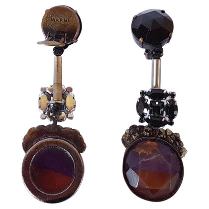 Marni Earrings with gemstones