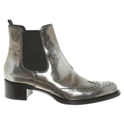 Miu Miu Silver colored ankle boots