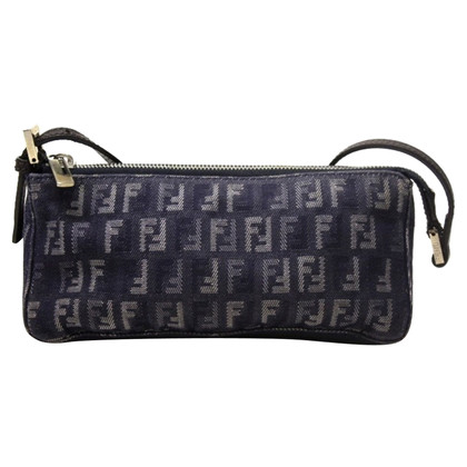 Fendi clutch from denim