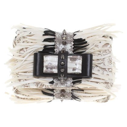 Christian Louboutin Shoulder bag with feather decor