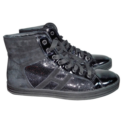 Hogan Sneaker with sequin trim