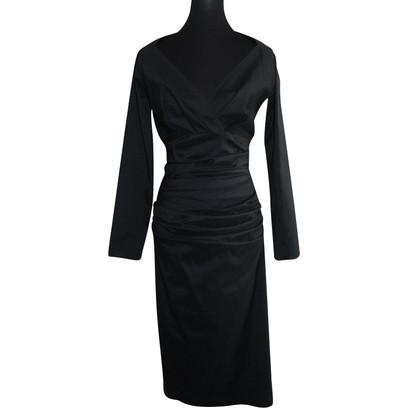 Talbot Runhof zwarte jurk