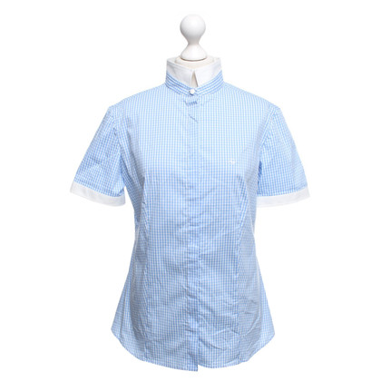 Fay Shirt in Blauw / Wit