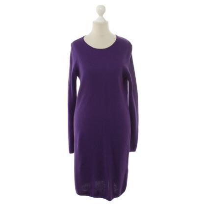 Iris von Arnim Kasjmier jurk in paars