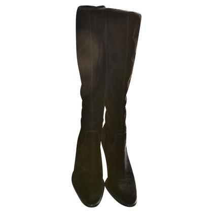 Sergio Rossi Boots Velvet