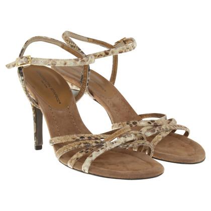 Konstantin Starke Sandals in reptile look