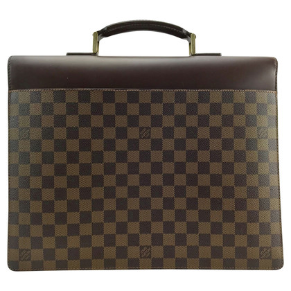 "Louis Vuitton ""Altona Damier Ebene Canvas"""