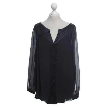 Laurèl Blouse in dark blue