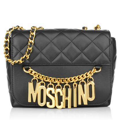 "Moschino Umhängetasche ""Classic Step Bag Black Gold"""