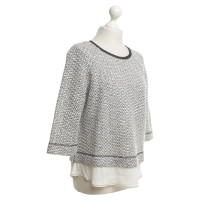 Riani Knit sweater in black / white