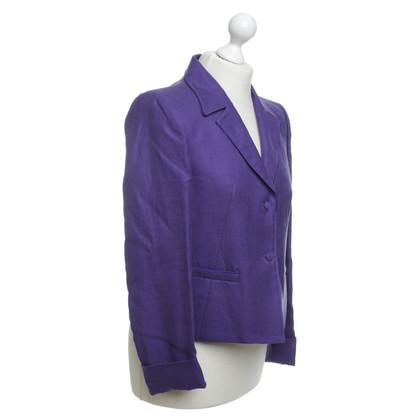 Versace Blazer in viola