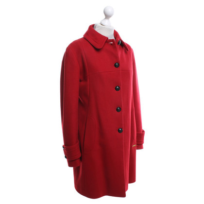 Thomas Burberry Coat in het rood