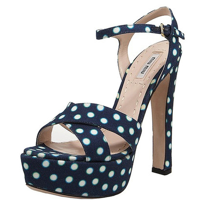 Miu Miu Polka Dot Pumps
