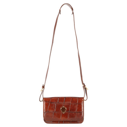 Pollini Shoulder bag in crocodile look