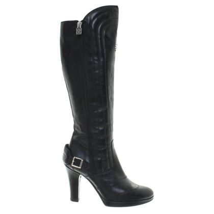 Belstaff Black leather boots