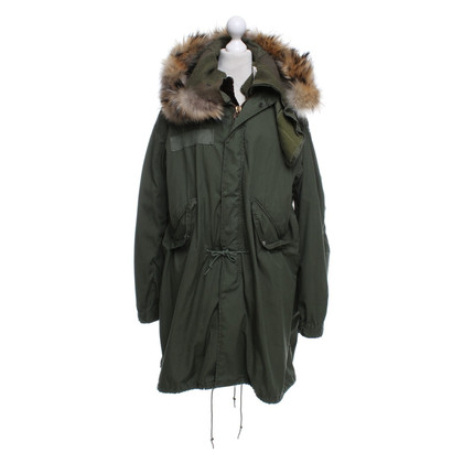 Barbed Parka in groen