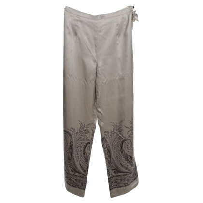 Marina Rinaldi Pants made of silk
