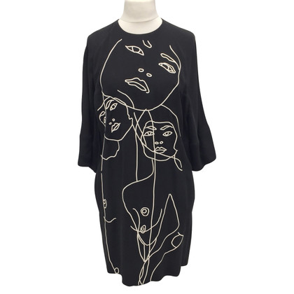 Stella McCartney Black rayon dress