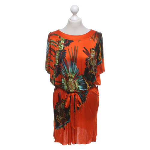 Jean Paul Gaultier Kleid in Multicolor - Second Hand Jean Paul ...