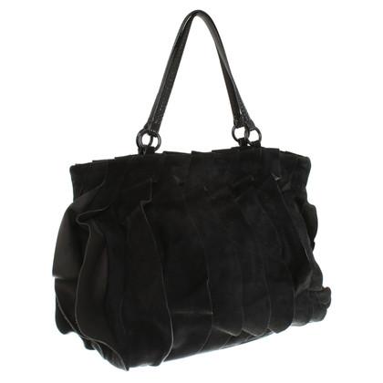 Valentino Suede handbag