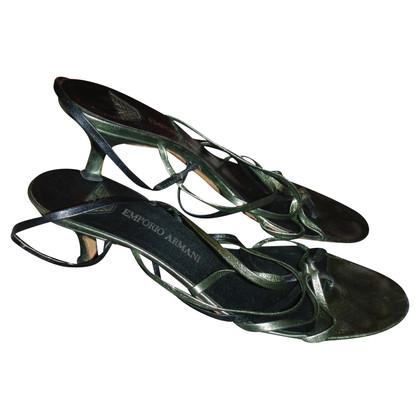 Armani sandali pelle