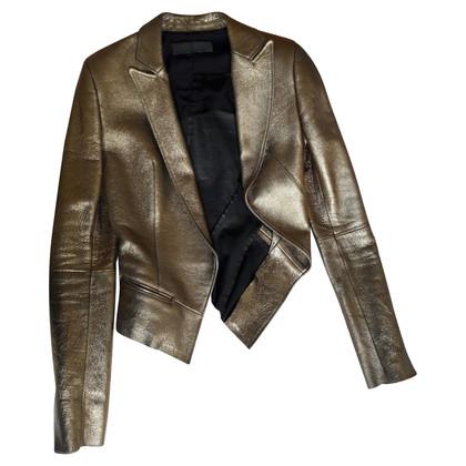 Haider Ackermann Gold Blazer