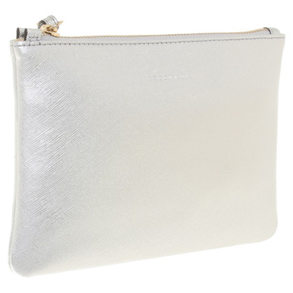 Coccinelle Silver colored clutch