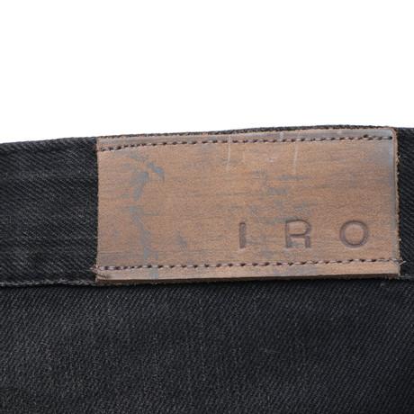 in Iro Schwarz Jeansshort Schwarz Jeansshort Iro q66gxY7