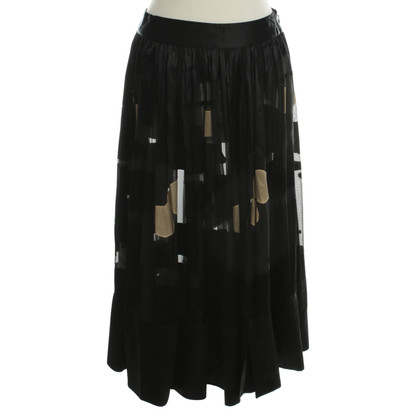 Stine Goya Pleated skirt in black