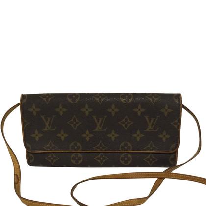 "Louis Vuitton ""Koppeling Twin Monogram Canvas"""