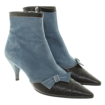 Jourdan Ankle boots in bi-color