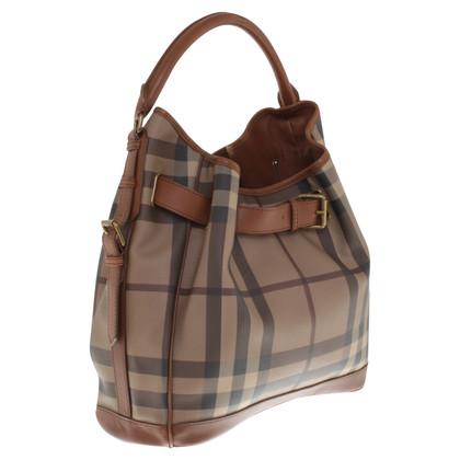 Burberry Handtasche im Nova-Check-Muster